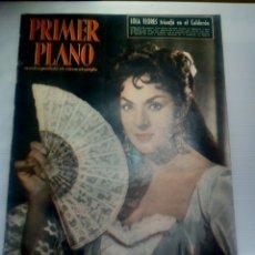 Cine: PRIMER PLANO N° 942 11/1958 •LOLA FLORES•LIZ TAYLOR•AUTÓGRAFO ANTONIO GONZALEZ . Lote 86459732