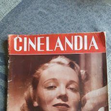 Cine: CINELANDIA. REVISTA PUBLICADA EN HOLLYWOOD. Lote 86476104