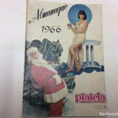 Cine: ALMANAQUES PLATEIA, AÑO 1966 Y 1963 ( DIVERSOS TEMAS ). Lote 86514412