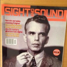 Cine: SIGHT AND SOUND - OCTUBRE 2001 -. Lote 86541820