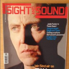 Cine: SIGHT AND SOUND - MAYO 2002 -. Lote 86541960