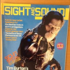 Cine: SIGHT AND SOUND - SEPTIEMBRE 2001 - PLANET OF THE APES. Lote 86542128