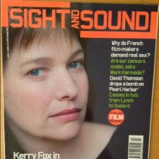 Cine: SIGHT AND SOUND - JULIO 2001 -. Lote 86542252