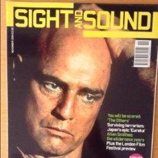 Cine: SIGHT AND SOUND - NOVIEMBRE 2001 -. Lote 86542656