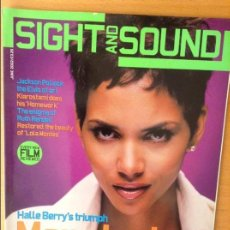 Cine: SIGHT AND SOUND - JUNIO 2002 - HALLE BERRY. Lote 86542952