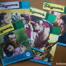 Cine: REVISTAS FOTOGRAMAS DEL Nº 6 A EL Nº 11 1947. Lote 86615268