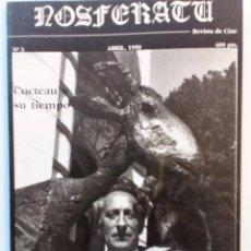 Cine: NOSFERATU Nº 3 1990) COCTEAU Y SU TIEMPO.(CASTELLANO-EUSKARA) EJEMPLAR DE COLECCIONISMO.. Lote 86804824