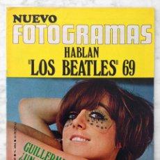 Cinema: REVISTA FOTOGRAMAS - Nº 1094 - 1969 - GUILLERMINA MOTTA, BEATLES, ELKE SOMMER, JESS & JAMES. Lote 87006976