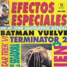 Cine: REVISTA EFECTOS ESPECIALES EN EL CINE FANTÁSTICO. FANGORIA. EDICIONES ZINCO. Lote 87025856