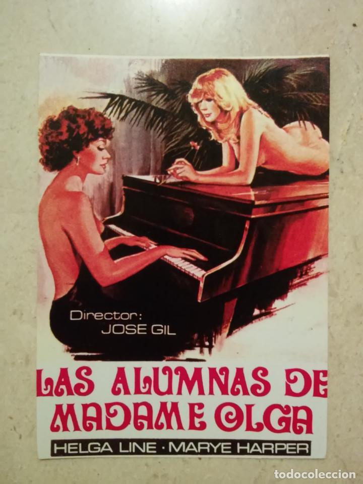 REPRODUCCION -10*15 - LAS ALUMNAS DE MADAME OLGA - CLASIFICADA S - HELGA LINE - KOSE GIL (Cine - Reproducciones de carteles, folletos...)