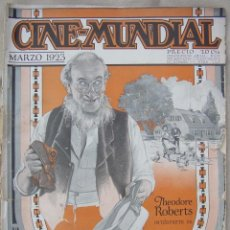Cine: REVISTA CINE MUNDIAL,MARZO 1923, TOMO VIII Nº 3 EDITADA POR CHALMERS PUBLISHING COMPANY, NUEVA YORK. Lote 87089916