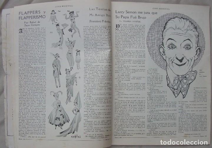 Cine: REVISTA CINE MUNDIAL,MARZO 1923, TOMO VIII Nº 3 EDITADA POR Chalmers Publishing Company, Nueva York - Foto 6 - 87089916