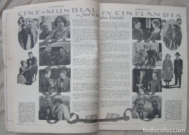 Cine: REVISTA CINE MUNDIAL,MARZO 1923, TOMO VIII Nº 3 EDITADA POR Chalmers Publishing Company, Nueva York - Foto 7 - 87089916