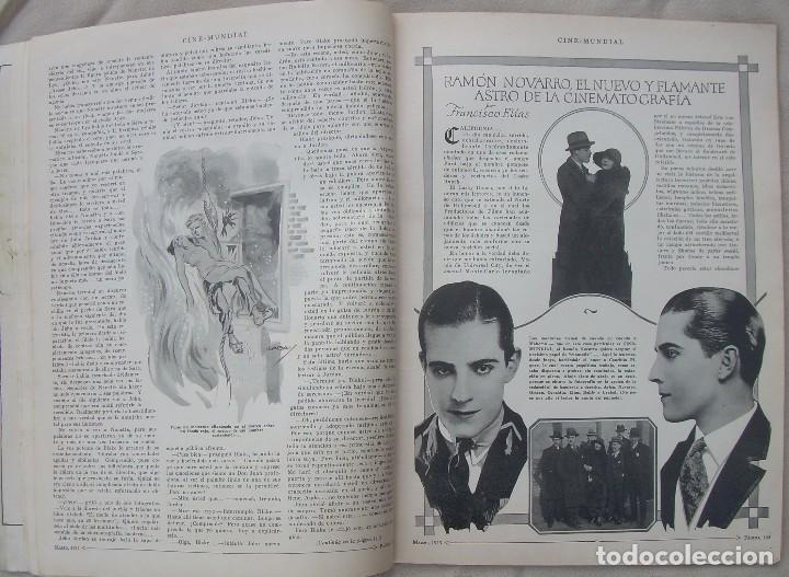 Cine: REVISTA CINE MUNDIAL,MARZO 1923, TOMO VIII Nº 3 EDITADA POR Chalmers Publishing Company, Nueva York - Foto 8 - 87089916