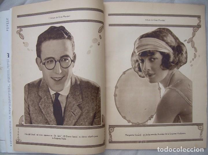 Cine: REVISTA CINE MUNDIAL,MARZO 1923, TOMO VIII Nº 3 EDITADA POR Chalmers Publishing Company, Nueva York - Foto 9 - 87089916