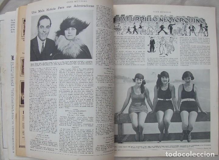 Cine: REVISTA CINE MUNDIAL,MARZO 1923, TOMO VIII Nº 3 EDITADA POR Chalmers Publishing Company, Nueva York - Foto 10 - 87089916