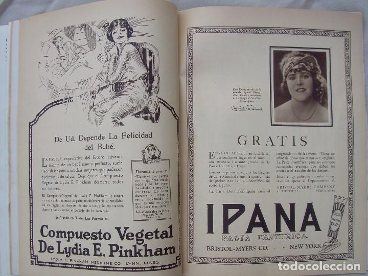 Cine: REVISTA CINE MUNDIAL,MARZO 1923, TOMO VIII Nº 3 EDITADA POR Chalmers Publishing Company, Nueva York - Foto 12 - 87089916