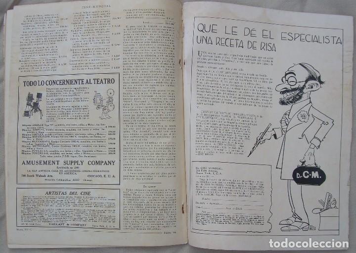 Cine: REVISTA CINE MUNDIAL,MARZO 1923, TOMO VIII Nº 3 EDITADA POR Chalmers Publishing Company, Nueva York - Foto 15 - 87089916