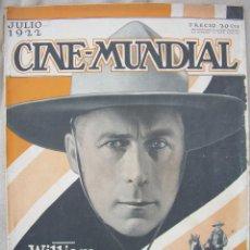 Cine: REVISTA CINE MUNDIAL,JULIO 1922, TOMO VII Nº 7 EDITADA POR CHALMERS PUBLISHING COMPANY, NUEVA YORK. Lote 87094372