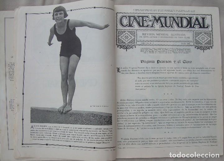 Cine: REVISTA CINE MUNDIAL,JULIO 1922, TOMO VII Nº 7 EDITADA POR Chalmers Publishing Company, Nueva York - Foto 5 - 87094372