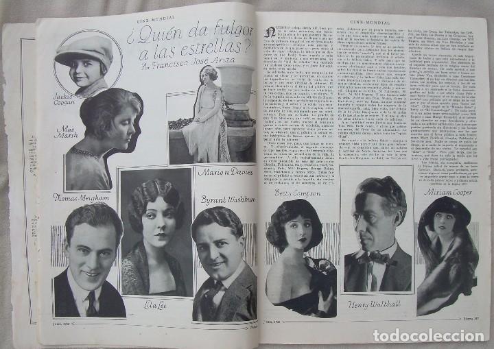 Cine: REVISTA CINE MUNDIAL,JULIO 1922, TOMO VII Nº 7 EDITADA POR Chalmers Publishing Company, Nueva York - Foto 6 - 87094372