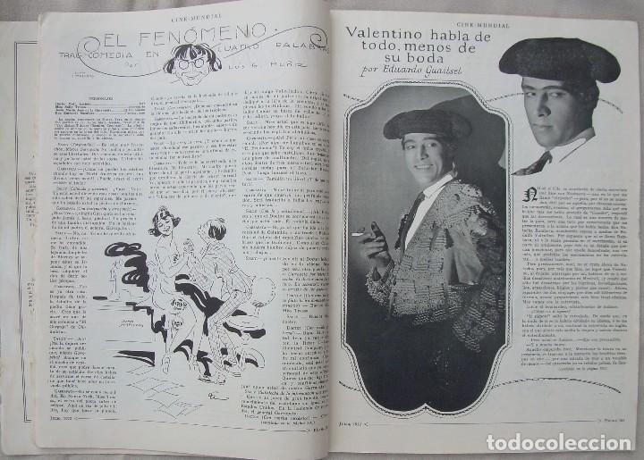 Cine: REVISTA CINE MUNDIAL,JULIO 1922, TOMO VII Nº 7 EDITADA POR Chalmers Publishing Company, Nueva York - Foto 8 - 87094372