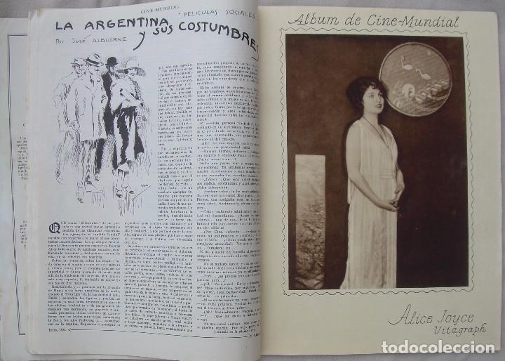 Cine: REVISTA CINE MUNDIAL,JULIO 1922, TOMO VII Nº 7 EDITADA POR Chalmers Publishing Company, Nueva York - Foto 9 - 87094372