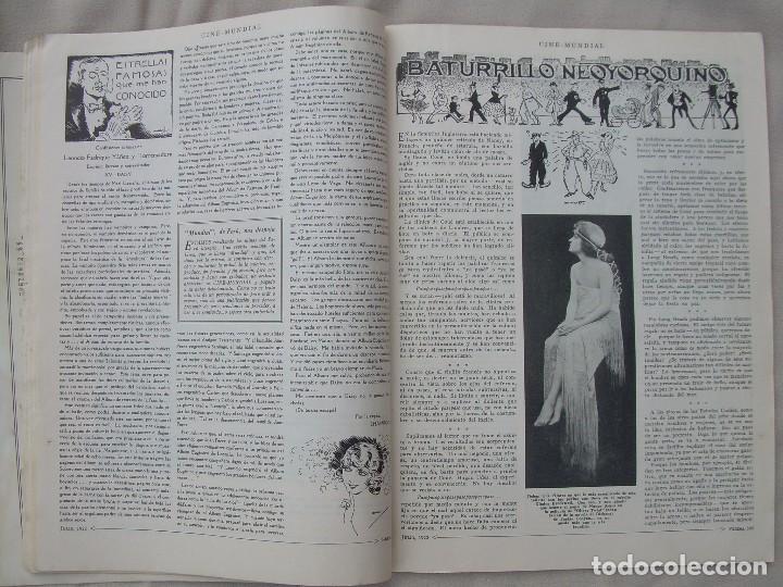 Cine: REVISTA CINE MUNDIAL,JULIO 1922, TOMO VII Nº 7 EDITADA POR Chalmers Publishing Company, Nueva York - Foto 12 - 87094372