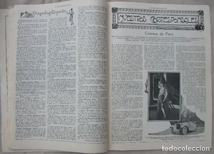 Cine: REVISTA CINE MUNDIAL,JULIO 1922, TOMO VII Nº 7 EDITADA POR Chalmers Publishing Company, Nueva York - Foto 13 - 87094372