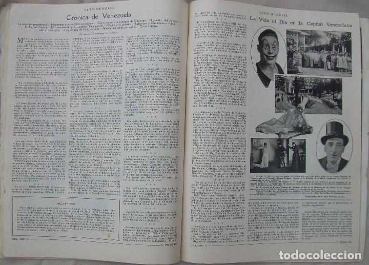 Cine: REVISTA CINE MUNDIAL,JULIO 1922, TOMO VII Nº 7 EDITADA POR Chalmers Publishing Company, Nueva York - Foto 15 - 87094372