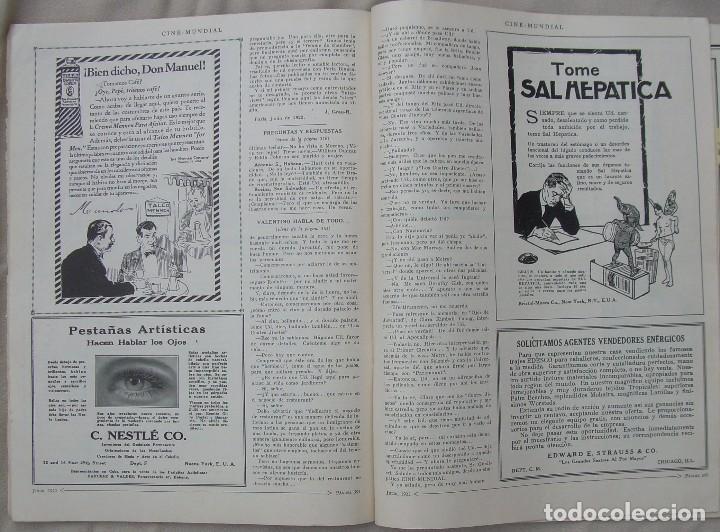 Cine: REVISTA CINE MUNDIAL,JULIO 1922, TOMO VII Nº 7 EDITADA POR Chalmers Publishing Company, Nueva York - Foto 16 - 87094372