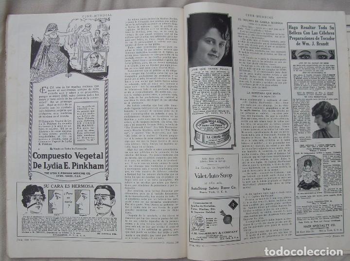 Cine: REVISTA CINE MUNDIAL,JULIO 1922, TOMO VII Nº 7 EDITADA POR Chalmers Publishing Company, Nueva York - Foto 17 - 87094372