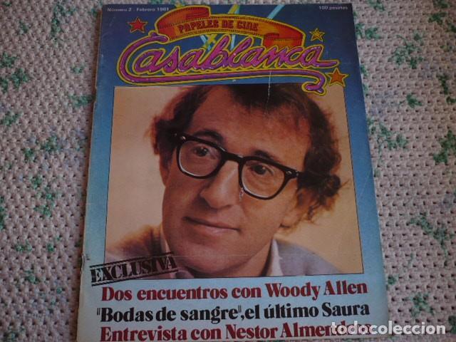 REVISTA CASABLANCA Nº 2 1981 (Cine - Revistas - Otros)