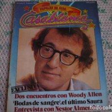 Cine: REVISTA CASABLANCA Nº 2 1981. Lote 87108960