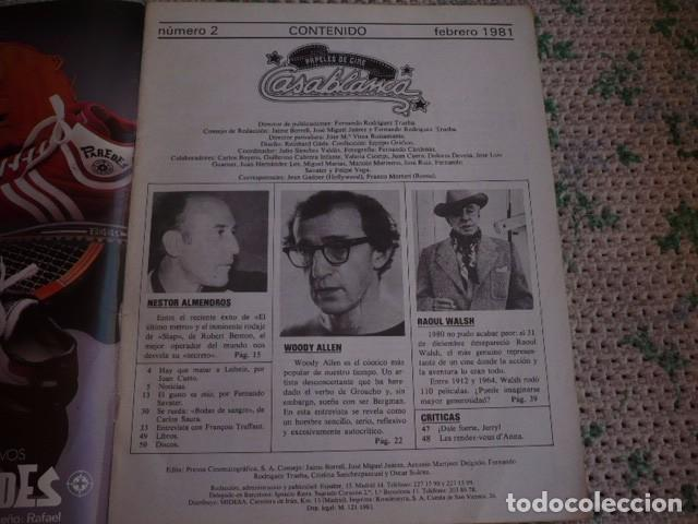 Cine: REVISTA CASABLANCA Nº 2 1981 - Foto 2 - 87108960