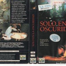 Cine: - CARATULA A4 - SOLO EN LA OSCURIDAD. Lote 87138104
