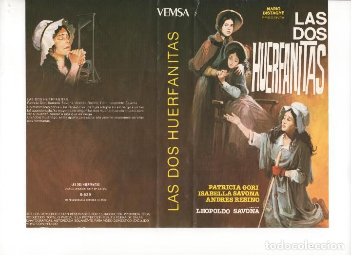 - SOLO CARATULA - LAS DOS HUERFANITAS (Cine - Revistas - Otros)