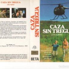 Cine: - SOLO CARATULA - CAZA SIN TREGUA. Lote 87151348