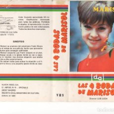 Cinema: - SOLO CARATULA - LAS 4 BODAS DE MARISOL. Lote 87151616