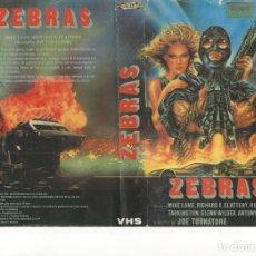 Cine: - REPRODUCCION CARATULA - ZEBRAS. Lote 87180804