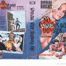 Cine: REPRODUCCION DE CARATULA - NO COMETAIS ACTOS IMPUROS. Lote 87350692