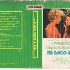 Cine: CARATULA ORIGINAL TAMAÑO A4 - EL LAGO AZUL (DETERIORADA). Lote 87351876