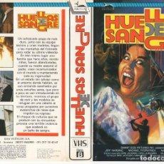 Cine: CARATULA ORIGINAL TAMAÑO A4 - HUELLAS DE SANGRE. Lote 87352828