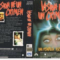 Cine: CARATULA ORIGINAL TAMAÑO A4 - VISION DE UN CRIMEN. Lote 87354852