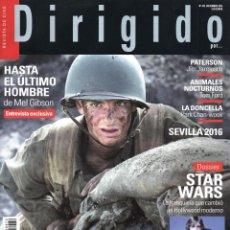 Kino - DIRIGIDO POR... N. 472 DICIEMBRE 2016 - EN PORTADA: HASTA EL ULTIMO HOMBRE (NUEVA) - 87355352