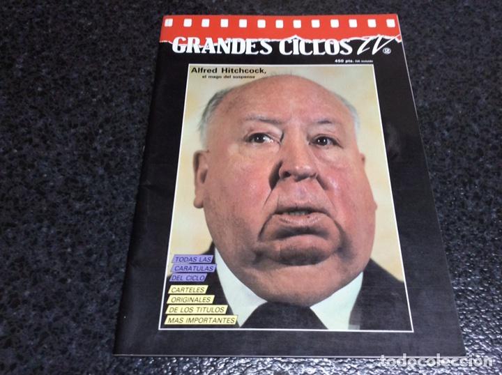 GRANDES CICLOS TV Nº 2 , ALFRED HITCHCOCK , EL MAGO DEL SUSPENSE (Cine - Revistas - Otros)