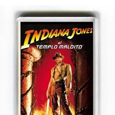 Cine: IMAN ACRILICO NEVERA - CINE INDIANA JONES Y EL TEMPLO MALDITO HARRISON FORD STEVEN SPIELBERG. Lote 87558600