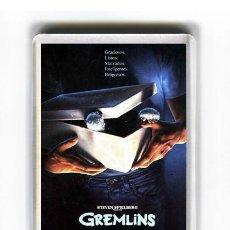 Cine: IMAN ACRILICO NEVERA - CINE GREMLINS. Lote 87558880