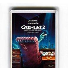 Cine: IMAN ACRILICO NEVERA - CINE GREMLINS 2. Lote 87558884
