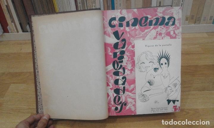 Cine: REVISTA CINEMA VARIEDADES (AÑOS 1933, 1934, 1935 Y 1936). DEL Nº 1 AL 24 (1 VOLUMEN) - Foto 3 - 87617440